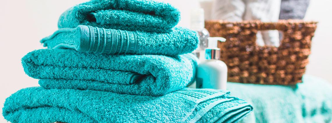 conjunto de toallas de bano
